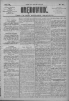 Orędownik: pismo dla spraw politycznych i społecznych 1910.02.02 R.40 Nr26
