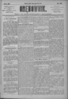 Orędownik: pismo dla spraw politycznych i społecznych 1910.02.04 R.40 Nr27