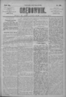 Orędownik: pismo dla spraw politycznych i społecznych 1910.02.08 R.40 Nr30
