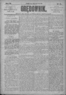Orędownik: pismo dla spraw politycznych i społecznych 1910.02.09 R.40 Nr31