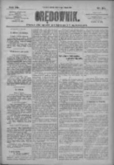 Orędownik: pismo dla spraw politycznych i społecznych 1910.02.12 R.40 Nr34