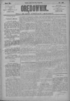 Orędownik: pismo dla spraw politycznych i społecznych 1910.02.18 R.40 Nr39