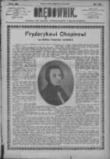 Orędownik: pismo dla spraw politycznych i społecznych 1910.02.22 R.40 Nr42