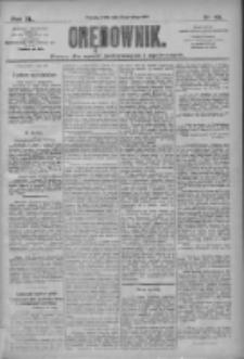 Orędownik: pismo dla spraw politycznych i społecznych 1910.02.23 R.40 Nr43