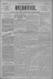 Orędownik: pismo dla spraw politycznych i społecznych 1910.02.24 R.40 Nr44