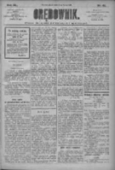 Orędownik: pismo dla spraw politycznych i społecznych 1910.02.25 R.40 Nr45