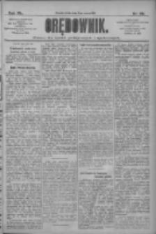 Orędownik: pismo dla spraw politycznych i społecznych 1910.03.02 R.40 Nr49