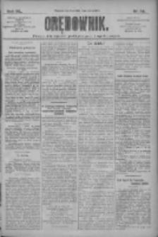 Orędownik: pismo dla spraw politycznych i społecznych 1910.03.03 R.40 Nr50