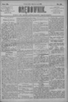 Orędownik: pismo dla spraw politycznych i społecznych 1910.03.05 R.40 Nr52