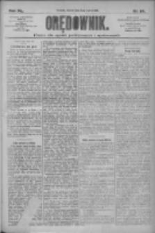 Orędownik: pismo dla spraw politycznych i społecznych 1910.03.08 R.40 Nr54