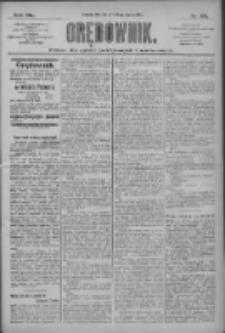 Orędownik: pismo dla spraw politycznych i społecznych 1910.03.15 R.40 Nr60