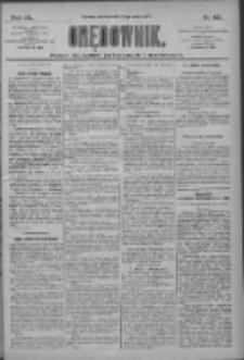 Orędownik: pismo dla spraw politycznych i społecznych 1910.03.17 R.40 Nr62