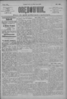 Orędownik: pismo dla spraw politycznych i społecznych 1910.03.23 R.40 Nr67
