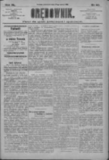 Orędownik: pismo dla spraw politycznych i społecznych 1910.03.24 R.40 Nr68