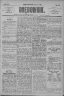 Orędownik: pismo dla spraw politycznych i społecznych 1910.03.27 R.40 Nr71