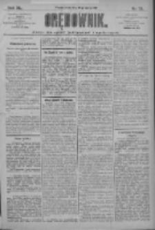 Orędownik: pismo dla spraw politycznych i społecznych 1910.03.30 R.40 Nr72
