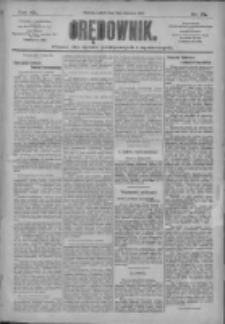 Orędownik: pismo dla spraw politycznych i społecznych 1910.04.02 R.40 Nr75