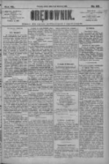 Orędownik: pismo dla spraw politycznych i społecznych 1910.04.08 R.40 Nr80