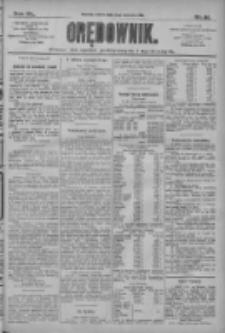 Orędownik: pismo dla spraw politycznych i społecznych 1910.04.09 R.40 Nr81