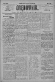 Orędownik: pismo dla spraw politycznych i społecznych 1910.04.12 R.40 Nr83