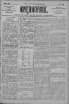 Orędownik: pismo dla spraw politycznych i społecznych 1910.04.14 R.40 Nr85