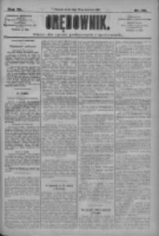 Orędownik: pismo dla spraw politycznych i społecznych 1910.04.20 R.40 Nr90