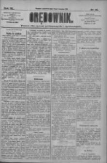 Orędownik: pismo dla spraw politycznych i społecznych 1910.04.21 R.40 Nr91