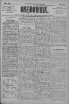 Orędownik: pismo dla spraw politycznych i społecznych 1910.04.23 R.40 Nr93