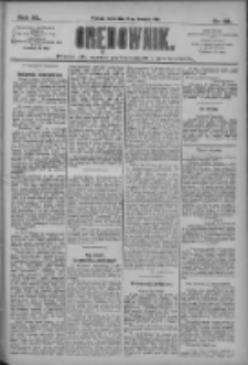 Orędownik: pismo dla spraw politycznych i społecznych 1910.04.27 R.40 Nr96
