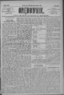 Orędownik: pismo dla spraw politycznych i społecznych 1910.04.28 R.40 Nr97