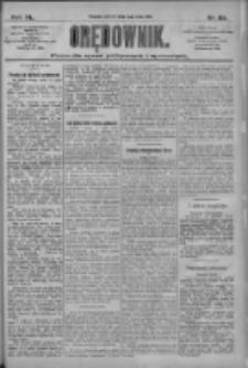 Orędownik: pismo dla spraw politycznych i społecznych 1910.05.03 R.40 Nr101