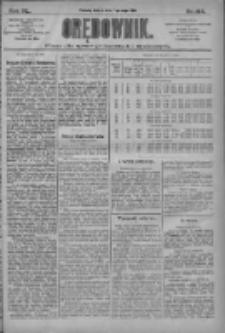 Orędownik: pismo dla spraw politycznych i społecznych 1910.05.07 R.40 Nr104