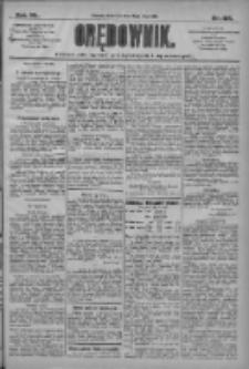 Orędownik: pismo dla spraw politycznych i społecznych 1910.05.08 R.40 Nr105