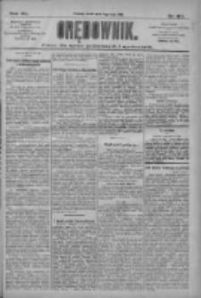 Orędownik: pismo dla spraw politycznych i społecznych 1910.05.11 R.40 Nr107