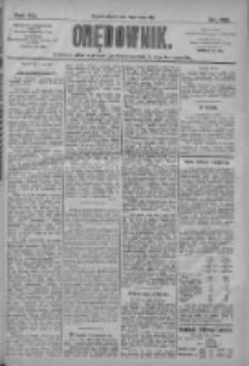 Orędownik: pismo dla spraw politycznych i społecznych 1910.05.13 R.40 Nr109
