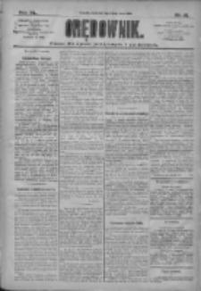 Orędownik: pismo dla spraw politycznych i społecznych 1910.05.15 R.40 Nr111