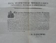 [Obwieszczenie Rady woj. wielkopolskich: poznańskiego, kaliskiego i gnieźnieńskiego]