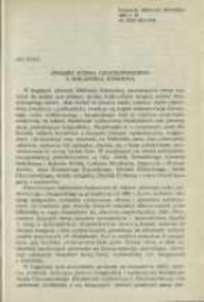 Związki Józefa Chociszewskiego z Biblioteką Kórnicką. Pamiętnik Biblioteki Kórnickiej Z. 18.