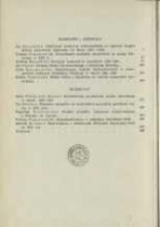 Treść zeszytu 18. Pamiętnik Biblioteki Kórnickiej Z. 18.