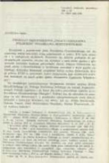 """Przekazy rękopiśmienne """"Policyi Królestwa Polskiego"""" Stanisława Orzechowskiego. Pamiętnik Biblioteki Kórnickiej Z. 20."""