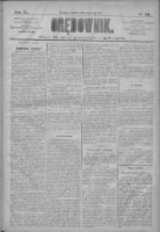 Orędownik: pismo dla spraw politycznych i społecznych 1910.05.19 R.40 Nr113
