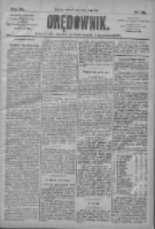 Orędownik: pismo dla spraw politycznych i społecznych 1910.05.22 R.40 Nr116