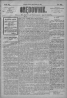 Orędownik: pismo dla spraw politycznych i społecznych 1910.05.29 R.40 Nr121