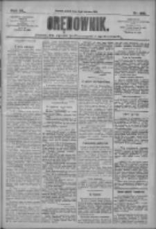 Orędownik: pismo dla spraw politycznych i społecznych 1910.06.03 R.40 Nr125