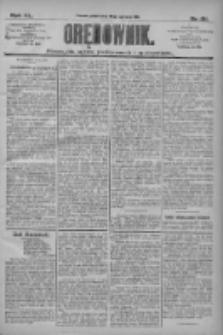Orędownik: pismo dla spraw politycznych i społecznych 1910.06.10 R.40 Nr131