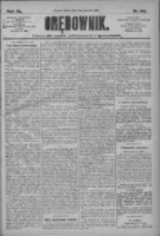 Orędownik: pismo dla spraw politycznych i społecznych 1910.06.11 R.40 Nr132