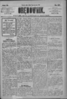 Orędownik: pismo dla spraw politycznych i społecznych 1910.06.17 R.40 Nr137