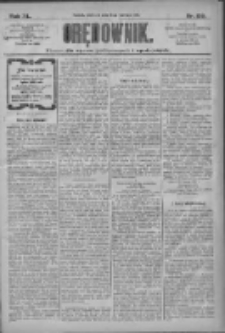 Orędownik: pismo dla spraw politycznych i społecznych 1910.06.19 R.40 Nr139