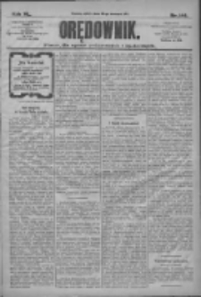 Orędownik: pismo dla spraw politycznych i społecznych 1910.06.25 R.40 Nr144