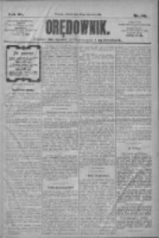 Orędownik: pismo dla spraw politycznych i społecznych 1910.06.26 R.40 Nr146